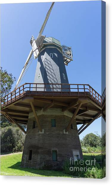 Murphy Windmill San Francisco Golden Gate Park San Francisco California Dsc6337 Canvas Print