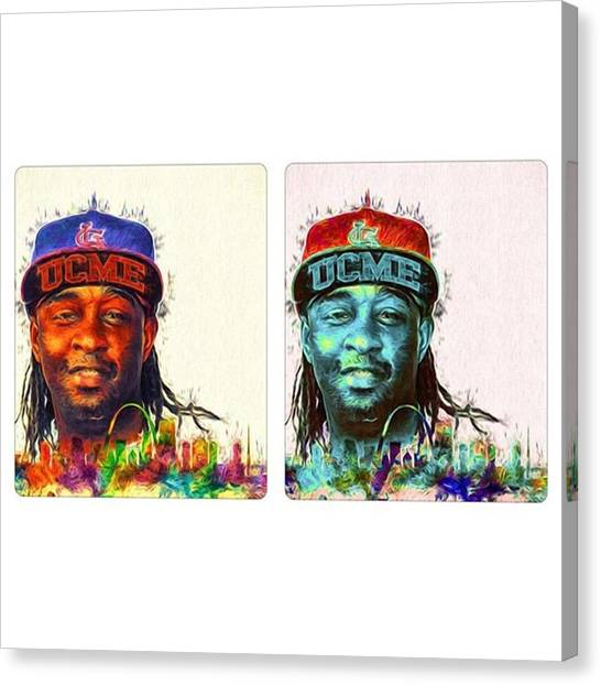 Bands Canvas Print - #murphylee #murphyleevsjaye by David Haskett II