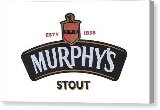 Murphys Irish Stout Canvas Print