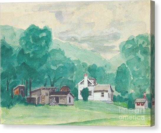 Murray Hollow Farm Canvas Print
