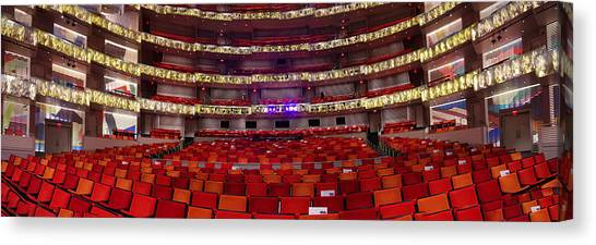Murrel Kauffman Theater Canvas Print