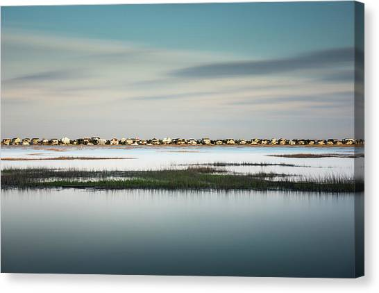 Wetlands Canvas Print - Murrells Inlet Marsh by Ivo Kerssemakers