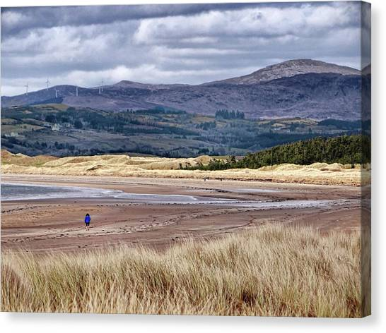 Murvagh Beach Winter Walk 2 Canvas Print