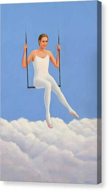 Muse Of Midday Canvas Print