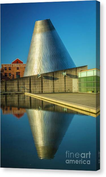Museum Of Glass Tower Canvas Print