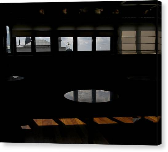 Museum Of Music Interior Canvas Print by Mark Chevalier