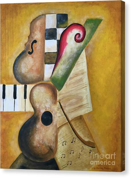 Music Abstract  Canvas Print