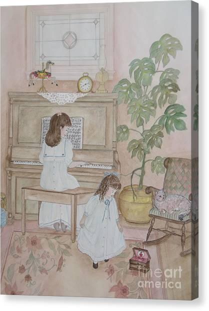 Music Box Dancer Canvas Print