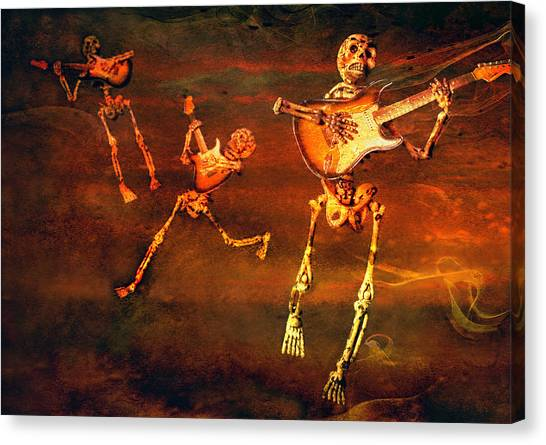 Canvas Print featuring the photograph Music Of The Souls by Jeff Gettis
