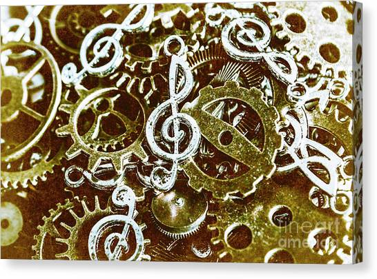 Fractal Canvas Print - Music Production by Jorgo Photography - Wall Art Gallery