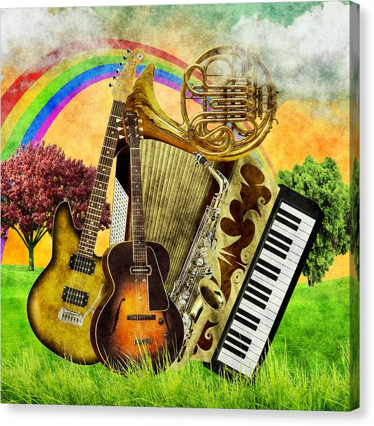 Musical Wonderland Canvas Print
