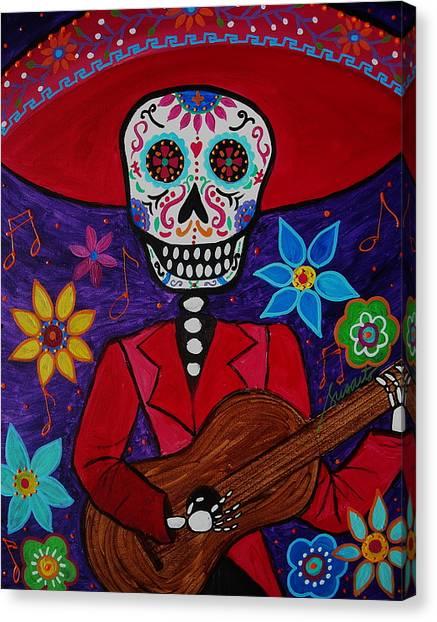 Musikero Canvas Print