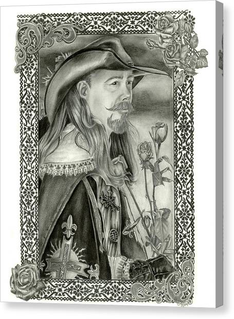 Musketeer Canvas Print