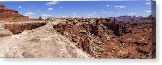 Geology Canvas Print - Musselman Arch by Chad Dutson