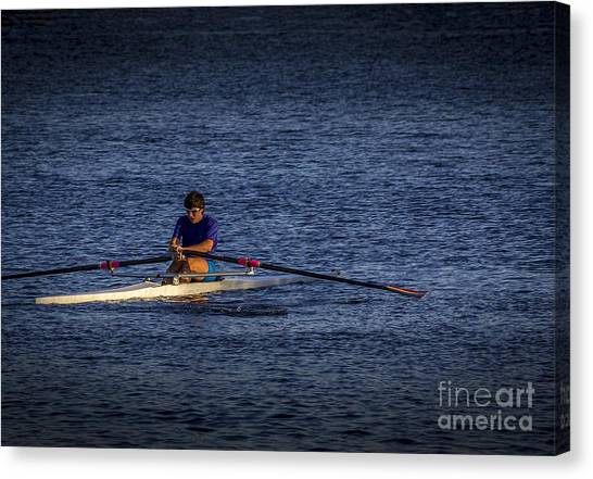 University Of Florida Canvas Print - Must Get Faster by Marvin Spates
