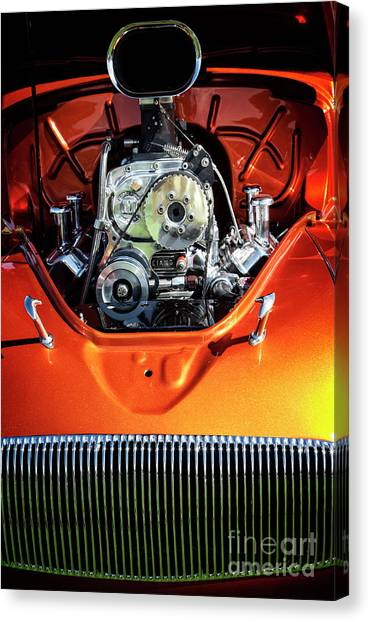 Canvas Print featuring the photograph Muscle Engine by Scott Kemper