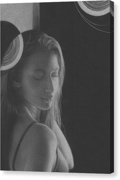 Muted Shadow No. 3 Canvas Print
