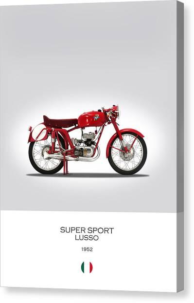 Mv Canvas Print - Mv Agusta Super Sport Lusso by Mark Rogan