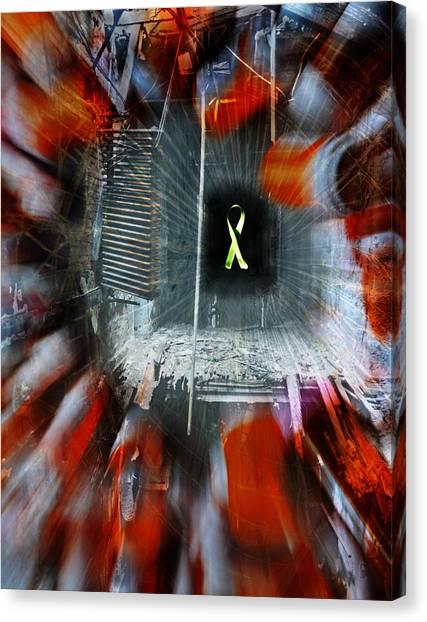 My Affliction Canvas Print