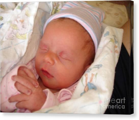 My Baby Prays II Canvas Print by Daniel Henning