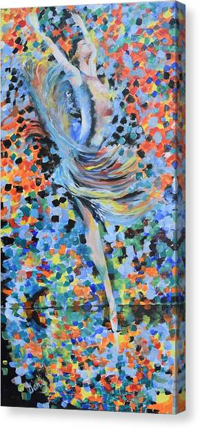 My Ballerina Canvas Print