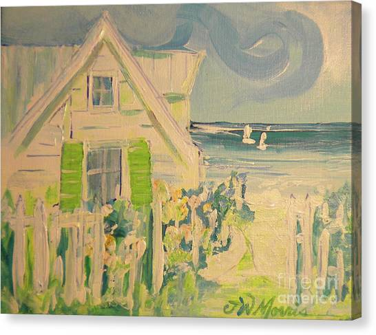 My Beach Cottage At Siesta Key Canvas Print