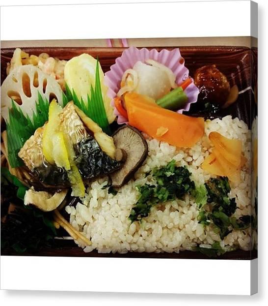 Pumpkins Canvas Print - My Bento Lunch Box by Lady Pumpkin