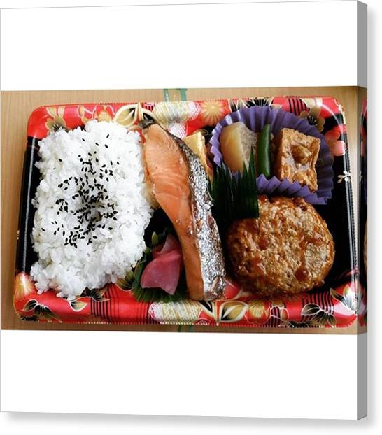 Pumpkins Canvas Print - My Bento Lunch #弁当 #bentobox by Lady Pumpkin