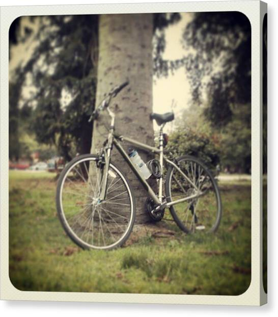 Portal Canvas Print - My Bike by Fernando Portal