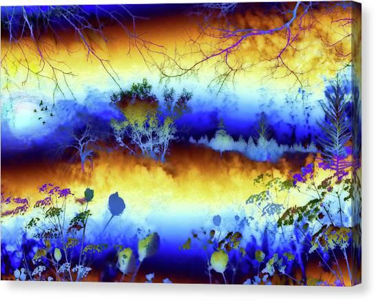 My Blue Heaven Canvas Print