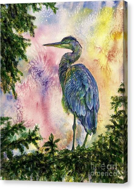 My Blue Heron Canvas Print