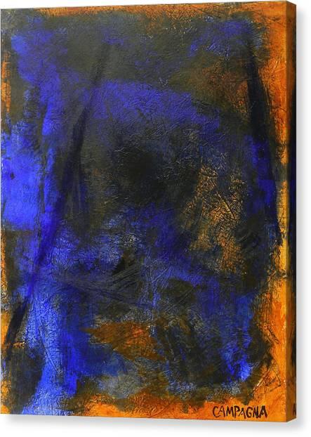 My Blue Canvas Print