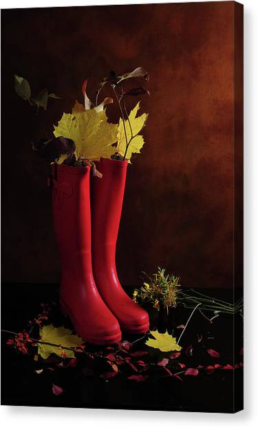 My Boots Are Cool Canvas Print