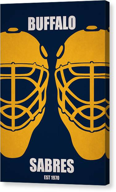 Buffalo Sabres Canvas Print - My Buffalo Sabres by Joe Hamilton