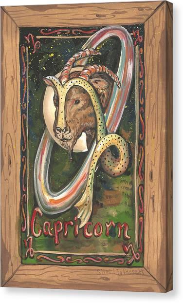 My Capricorn Canvas Print