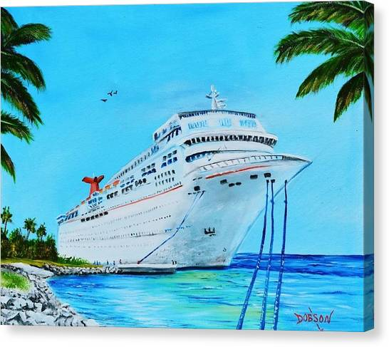 My Carnival Cruise Canvas Print