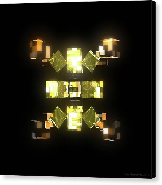 Canvas Print - My Cubed Mind - Frame 085 by Jules Gompertz