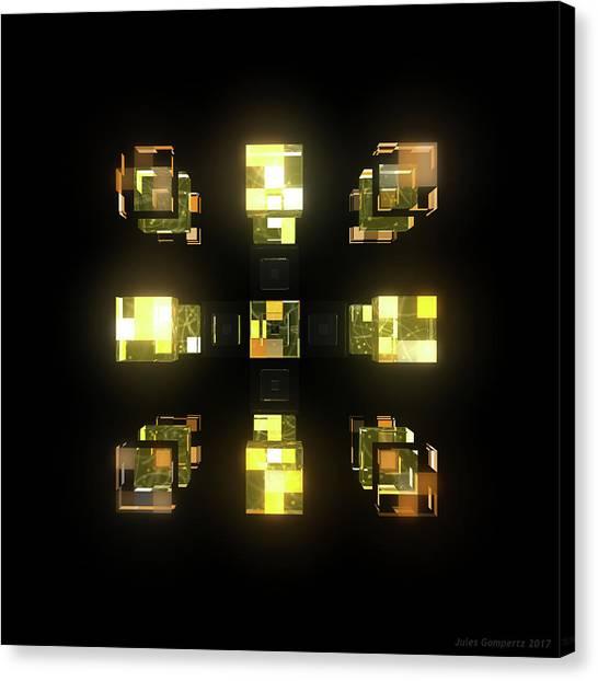 Canvas Print - My Cubed Mind - Frame 141 by Jules Gompertz