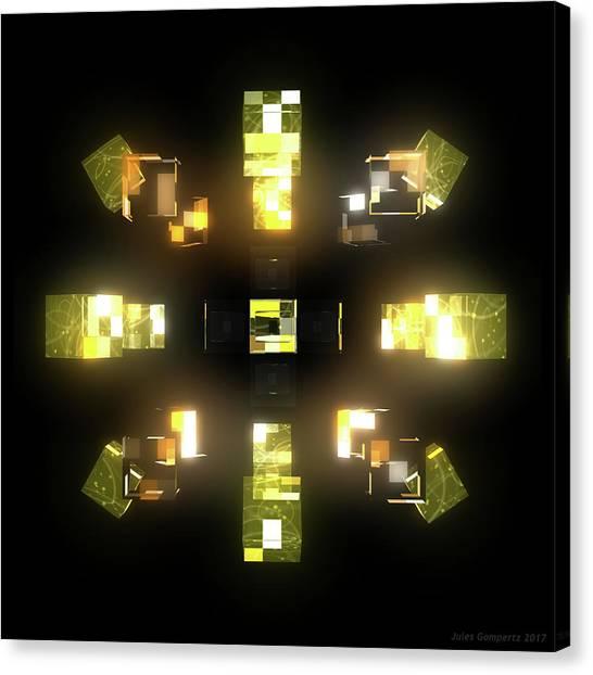 Canvas Print - My Cubed Mind - Frame 172 by Jules Gompertz