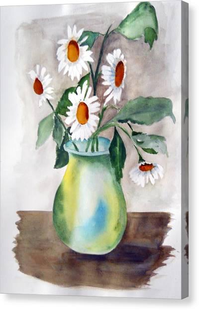 My Daisies Canvas Print