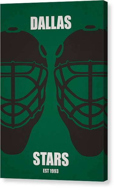 Dallas Stars Canvas Print - My Dallas Stars by Joe Hamilton