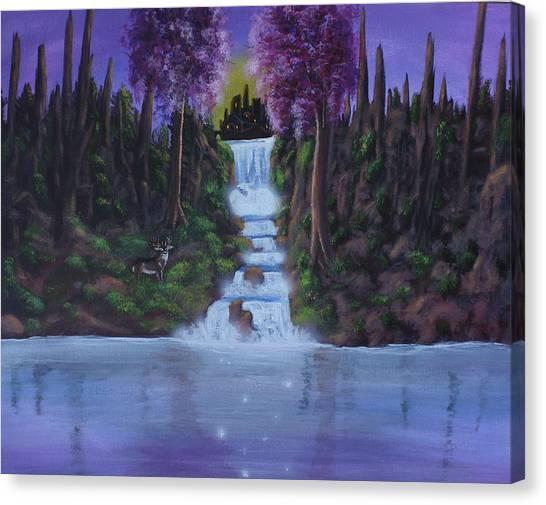 My Deerest Kingdom Canvas Print