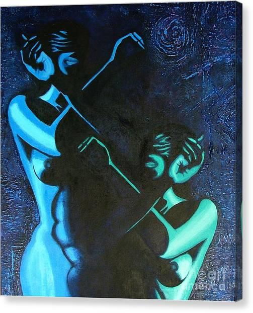 My Disownment Canvas Print by Padmakar Kappagantula
