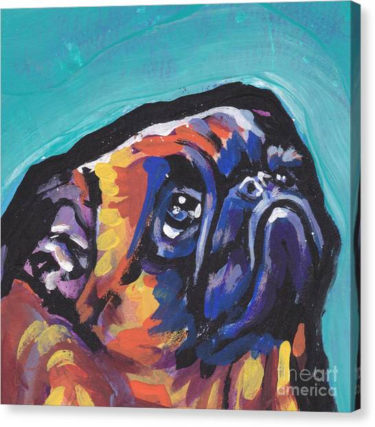 Griffons Canvas Print - My Eyes Adore You by Lea S