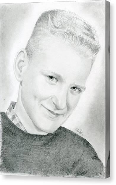 Canvas Print - My Father by Bitten Kari