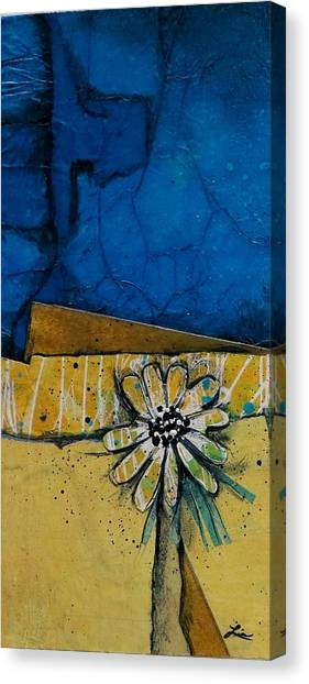 My Favorite Flower Canvas Print by Laura Lein-Svencner