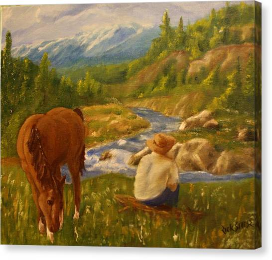 My Favorite Resting Place Canvas Print by Rick Stoesz