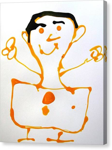 My Friend Canvas Print by Nanak Chadha