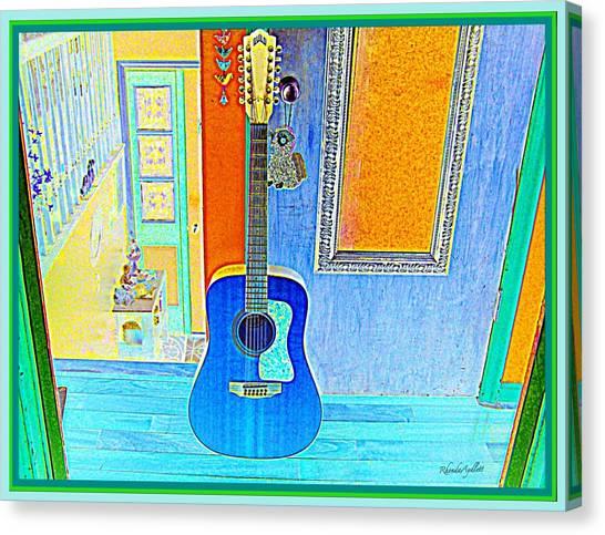 Canvas Print - My Guitar by YoMamaBird Rhonda