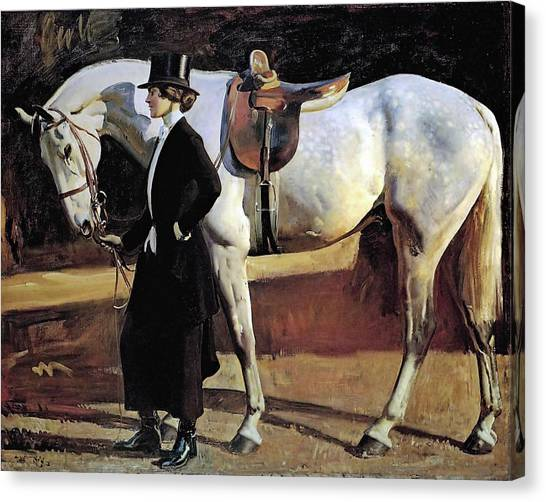 My Horse Is My Friend  Canvas Print